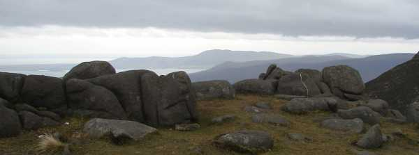 MountainViews.ie Picture about mountain Slieve Binnian East Top in area Mourne Mountains, Ireland