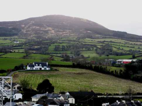 MountainViews.ie Picture about mountain Camlough Mountain in area Cooley/Gullion, County Armagh, Ireland