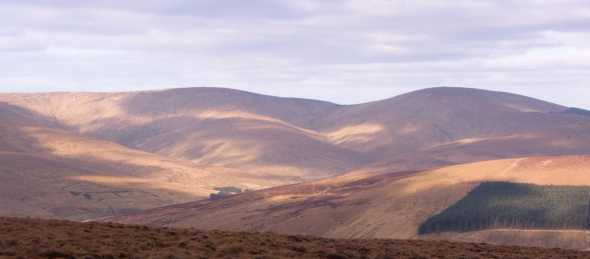 MountainViews.ie Picture about mountain Mullaghaneany in area Sperrin Mountains, Ireland
