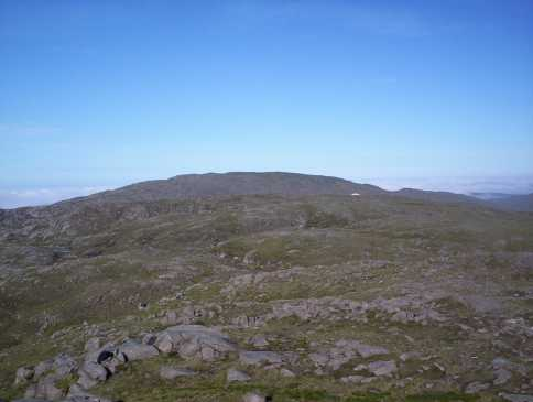 MountainViews.ie Picture about mountain Ardnageer SW Top in area Bluestack Mountains, Ireland