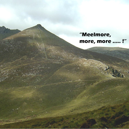 MountainViews.ie Picture about mountain Slieve Meelmore in area Mourne Mountains, County Down, Ireland
