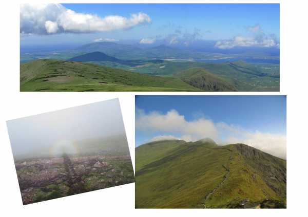 MountainViews.ie Picture about mountain Brandon Peak (<i>Barr an Ghéaráin</i>) in area Brandon Group, Ireland