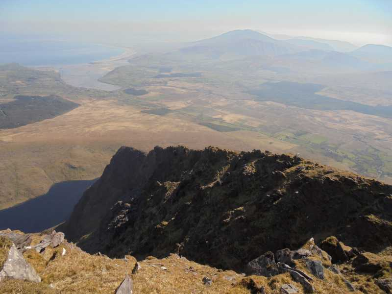 MountainViews.ie Picture about mountain Brandon Peak in area Brandon Group, Ireland
