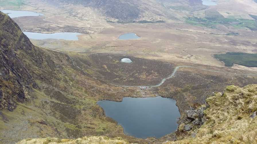 MountainViews.ie Picture about mountain Sliabh Mhacha Ré in area Central Dingle, Ireland