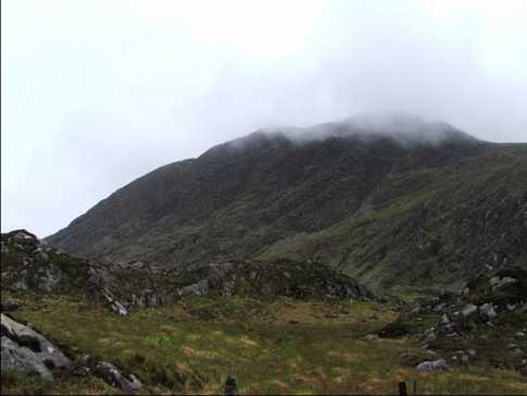 MountainViews.ie Picture about mountain Boughil in area Dunkerron Mountains, County Kerry, Ireland