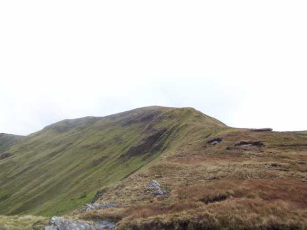 MountainViews.ie Picture about mountain Leenaun Hill (<i>An Meall Dubh</i>) in area Maamturks, Ireland