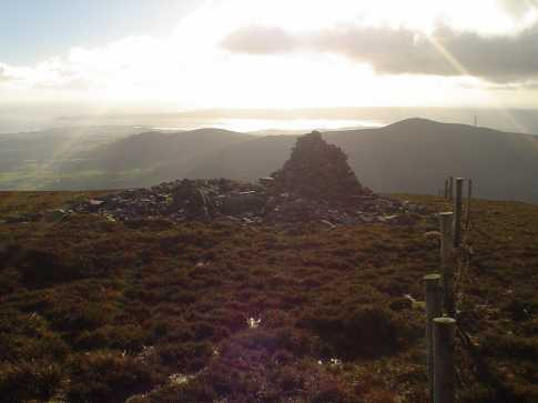 MountainViews.ie Picture about mountain Coumaraglin Mountain in area Comeragh Mountains, Ireland