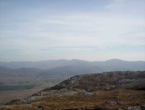 MountainViews.ie Picture about mountain Aghla Mountain in area Bluestack Mountains, County Donegal, Ireland