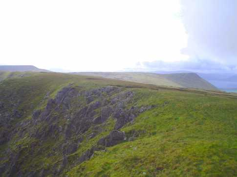 MountainViews.ie Picture about mountain Croaghskearda in area Central Dingle, Ireland