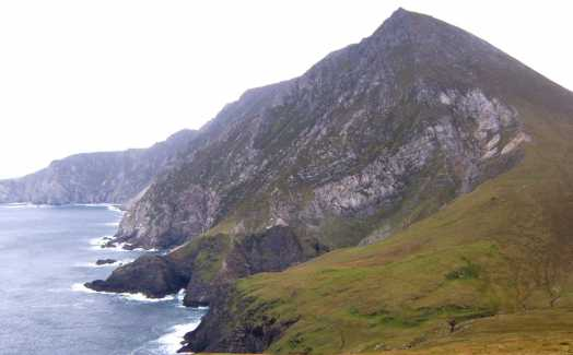 MountainViews.ie Picture about mountain Croaghaun SW Top in area Achill/Corraun, County Mayo, Ireland