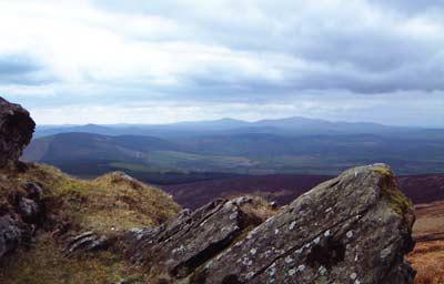 Croghan Kinsella 606m mountain, Dublin/Wicklow Wicklow Mountains