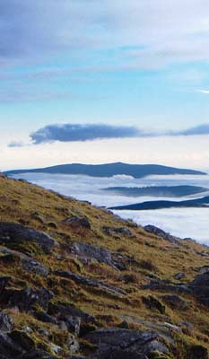 MountainViews.ie Picture about mountain Croghan Kinsella in area Dublin/Wicklow, Ireland