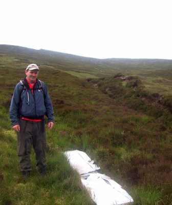 MountainViews.ie Picture about mountain Knockeenatoung in area Galty Mountains, Ireland