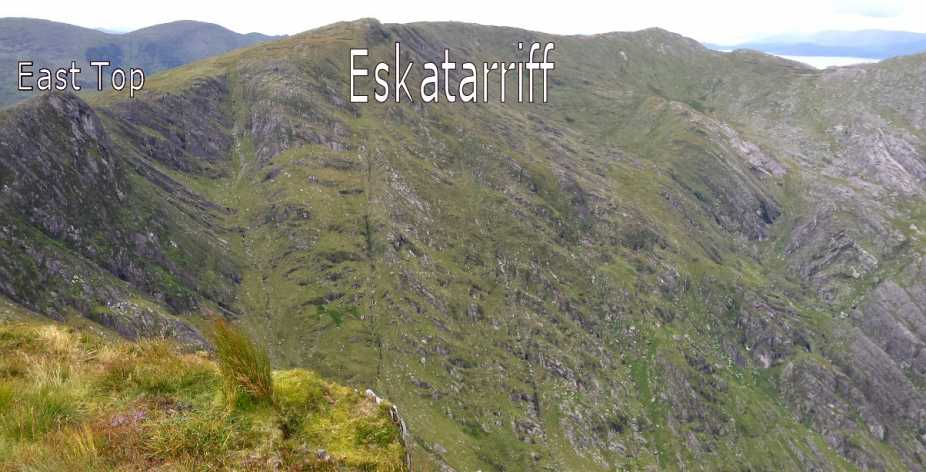 MountainViews.ie Picture about mountain Eskatarriff in area Caha Mountains, Ireland