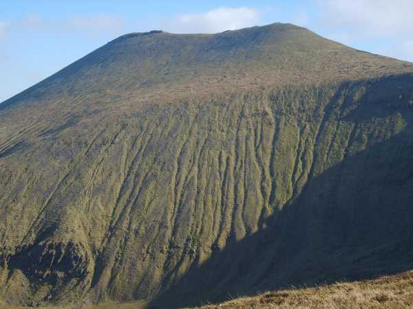 MountainViews.ie Picture about mountain Lough Curra Mound in area Galty Mountains, Ireland