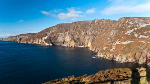 MountainViews.ie Picture about mountain Slieve League in area Donegal SW, Ireland
