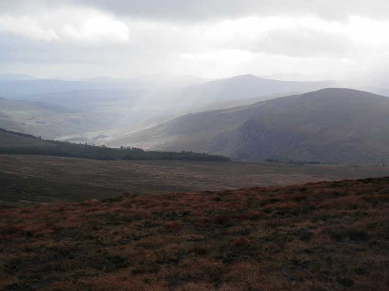 MountainViews.ie Picture about mountain Luggala (<i>Log an Lá</i>) in area Wicklow, Ireland