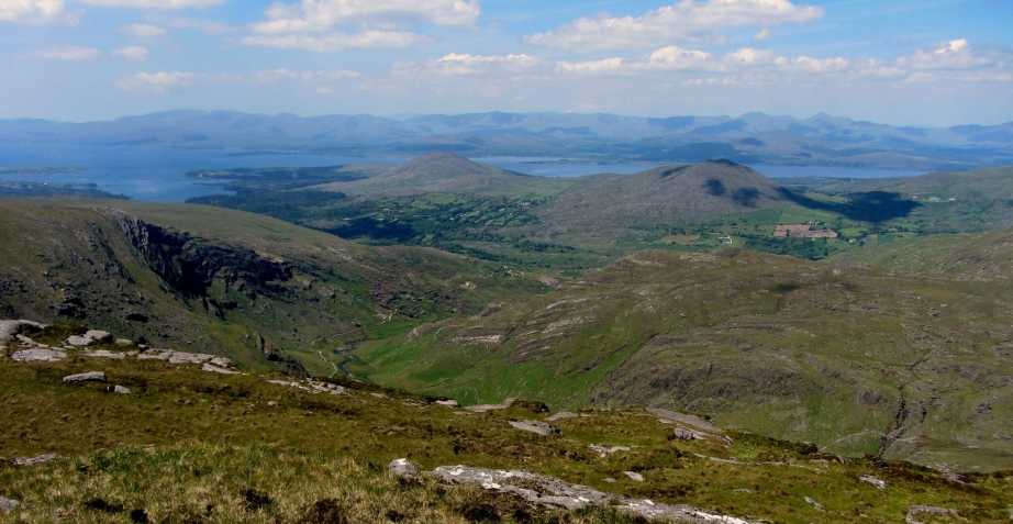 MountainViews.ie Picture about mountain Cushnaficulla in area Caha Mountains, Ireland