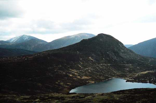 MountainViews.ie Picture about mountain Doan (<i>Dún Maol Chobha</i>) in area Mourne Mountains, Ireland