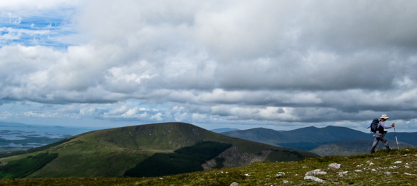 MountainViews.ie Picture about mountain Buckoogh in area North Mayo, Ireland