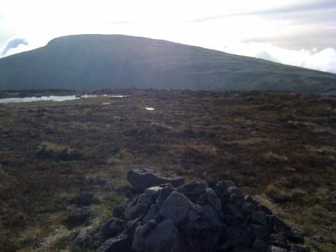 MountainViews.ie Picture about mountain Carn Mountain in area Mourne Mountains, Ireland
