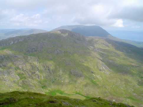 MountainViews.ie Picture about mountain Knocknagree in area Caha Mountains, Ireland