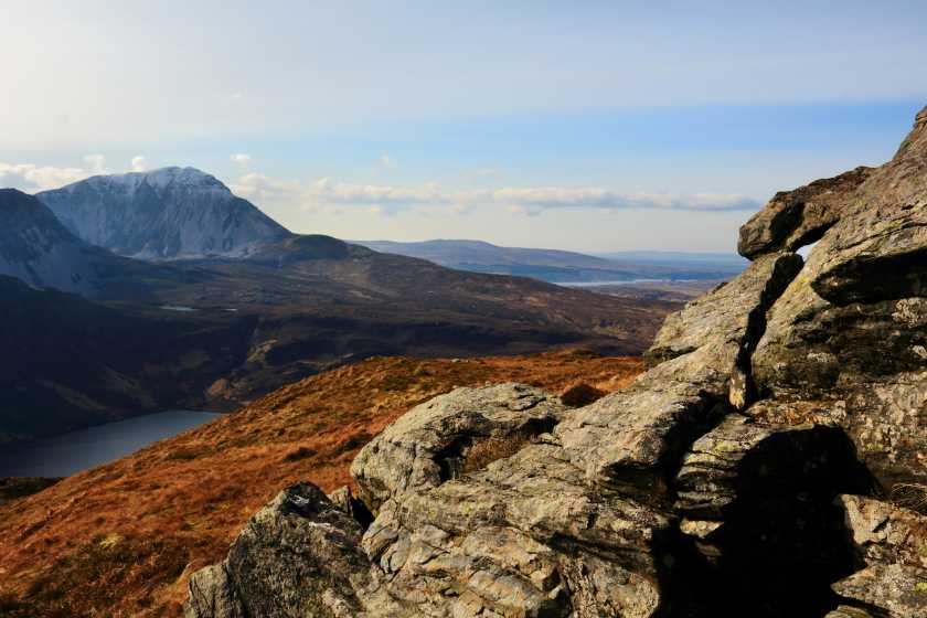 MountainViews.ie Picture about mountain An Eachla Mhór in area Donegal NW, Ireland