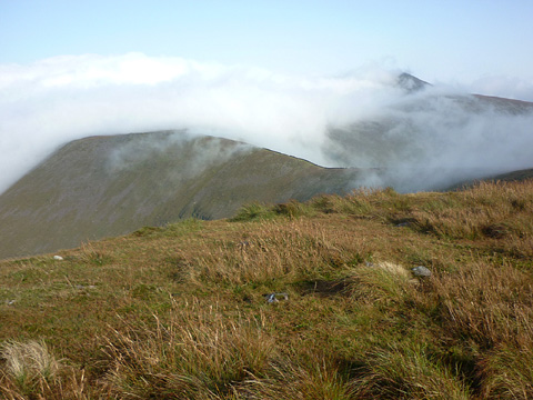 MountainViews.ie Picture about mountain Carrignabinnia in area Galty Mountains, Ireland