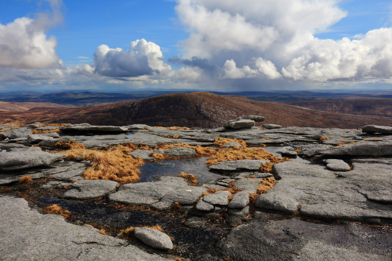 MountainViews.ie Picture about mountain Bingorms (<i>Na Beanna Gorma</i>) in area Donegal NW, Ireland
