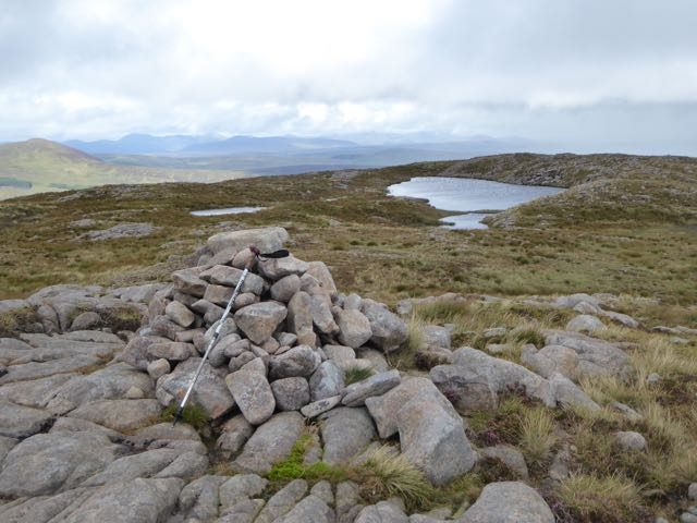 MountainViews.ie Picture about mountain Croaghnageer (<i>Cruach na gCaor (mullach thoir thuaidh)</i>) in area Bluestack Mountains, Ireland