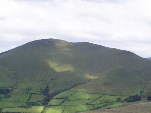 MountainViews.ie Picture about mountain Cush in area Galty Mountains, County Tipperary, Ireland