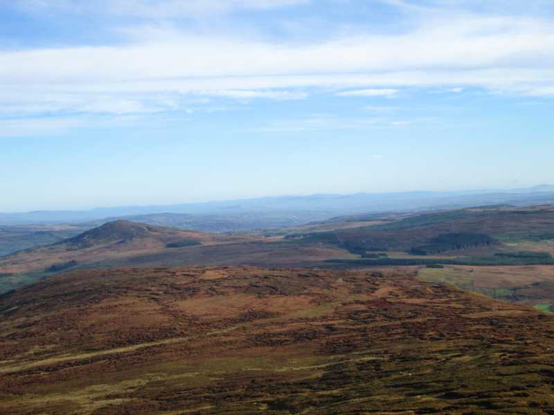 MountainViews.ie Picture about mountain Gaugin Mountain in area Bluestack Mountains, Ireland