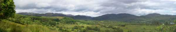 MountainViews.ie Picture about mountain Croaghbane in area Bluestack Mountains, County Donegal, Ireland