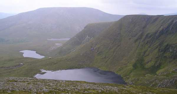 MountainViews.ie Picture about mountain Slieve Carr in area North Mayo, County Mayo, Ireland