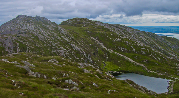 MountainViews.ie Picture about mountain Sugarloaf Mtn West Top in area Caha Mountains, County Cork, Ireland