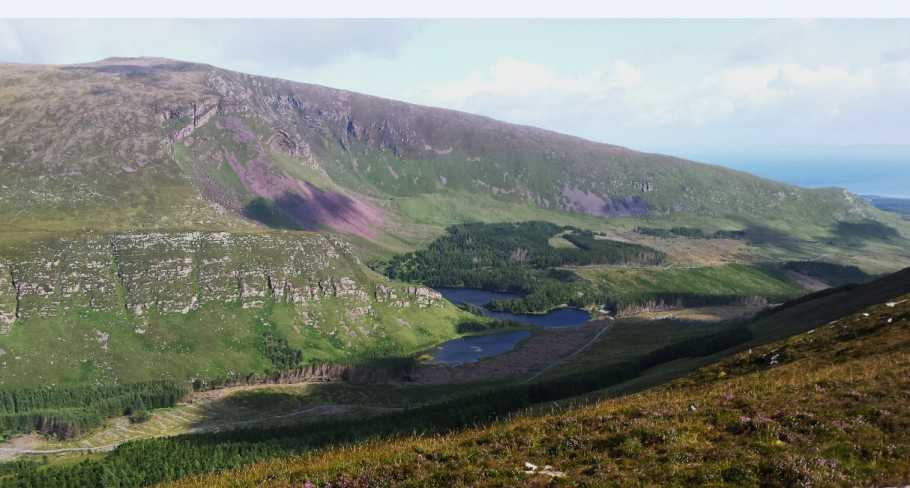 MountainViews.ie Picture about mountain Dromavally Mountain in area Central Dingle, Ireland