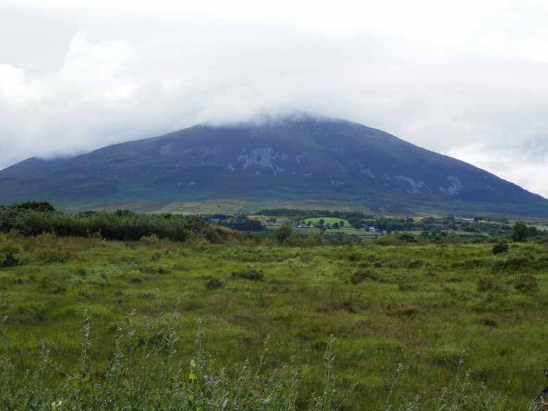 MountainViews.ie Picture about mountain Nephin in area North Mayo, Ireland