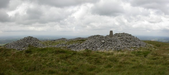 MountainViews.ie Picture about mountain Church Mountain in area Dublin/Wicklow, Ireland