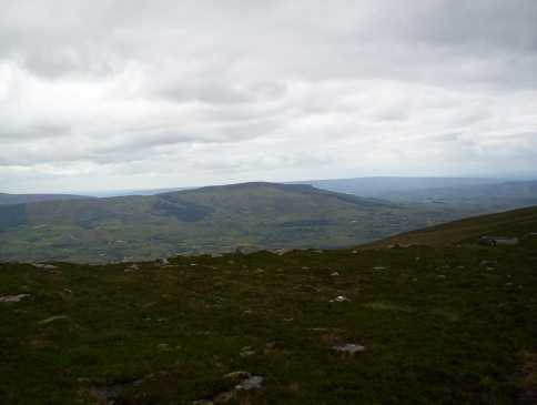 MountainViews.ie Picture about mountain The Playbank (<i>Sliabh na Cille</i>) in area Breifne, Ireland