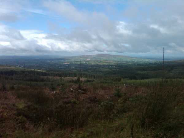MountainViews.ie Picture about mountain Mullaghcarn in area Sperrin Mountains, Ireland