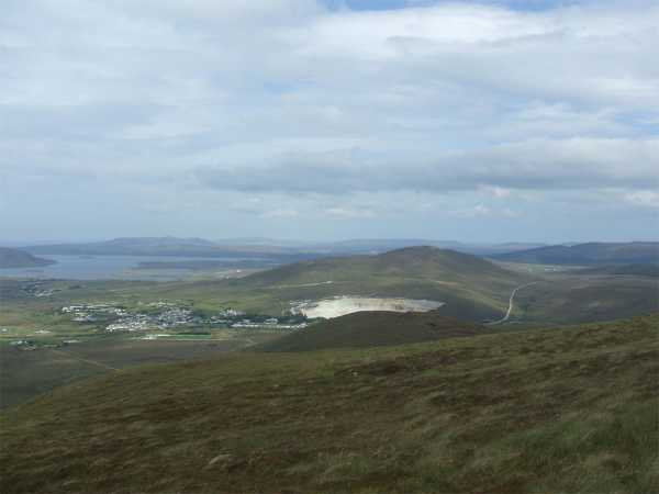MountainViews.ie Picture about mountain Carrafull in area North Mayo, County Mayo, Ireland