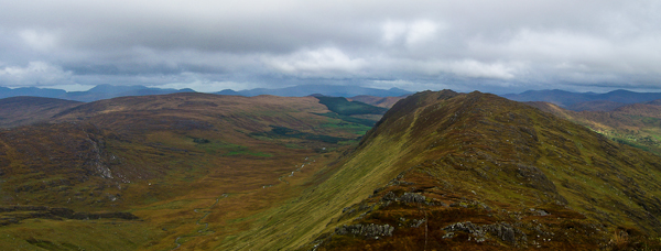 MountainViews.ie Picture about mountain Killane Mountain in area Caha Mountains, Ireland