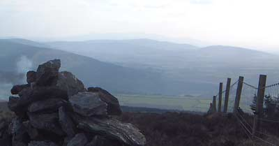 MountainViews.ie Picture about mountain Ballycurragh Hill in area Dublin/Wicklow, Ireland