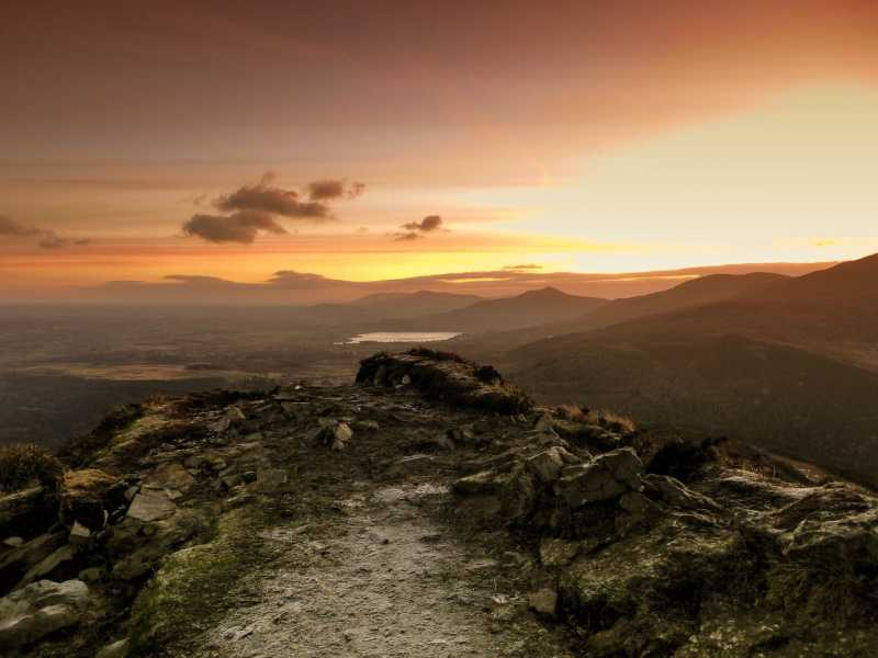 MountainViews.ie Picture about mountain Torc Mountain in area Mangerton, Ireland