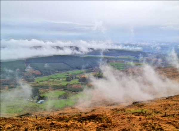 MountainViews.ie Picture about mountain Nowen Hill in area Shehy/Knockboy, Ireland