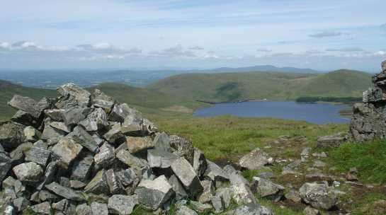 MountainViews.ie Picture about mountain Pigeon Rock Mountain in area Mourne Mountains, Ireland