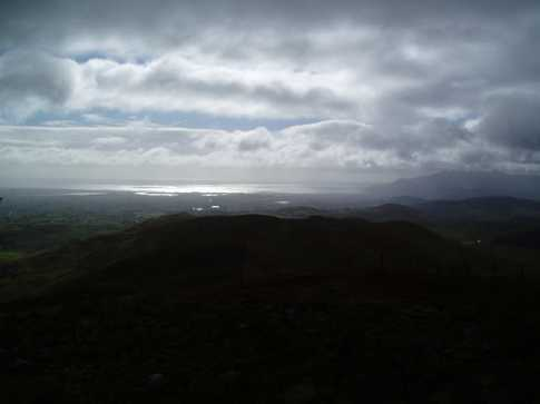 MountainViews.ie Picture about mountain Slieve Croob in area Mourne Mountains, Ireland