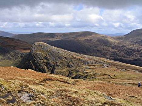 MountainViews.ie Picture about mountain Eskatarriff East Top in area Caha Mountains, Ireland
