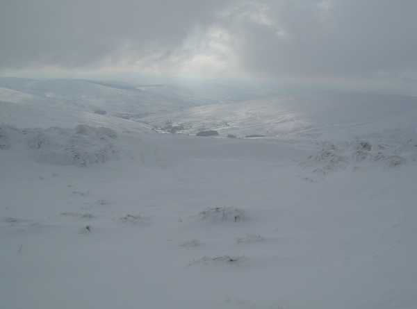 MountainViews.ie Picture about mountain Oughtmore in area Sperrin Mountains, County Derry/ Tyrone, Ireland