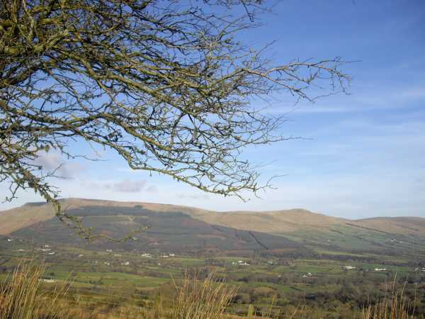 MountainViews.ie Picture about mountain Crockbrack in area Sperrin Mountains, Ireland